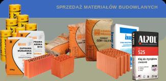 Sprzedaż materiałów budowlanych